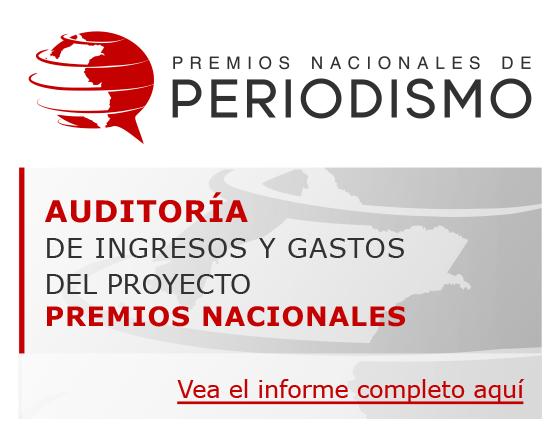 Auditoría de ingresos y gastos del proyecto Premios Nacionales de Periodismo
